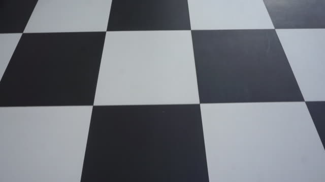 pov walking on the chessboard - tile stock videos & royalty-free footage