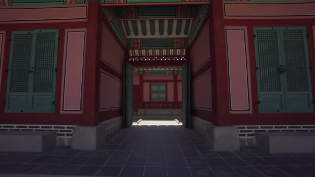 Walking through Gyeongbokgung Palace, POV