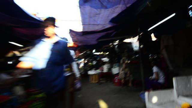 Walking through Hoi An Market Place, Vietnam