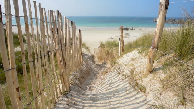 Walking through the Dunes-Finistere