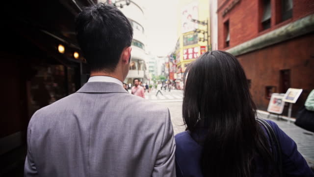 walking through tokyo streets - retail place stock videos & royalty-free footage
