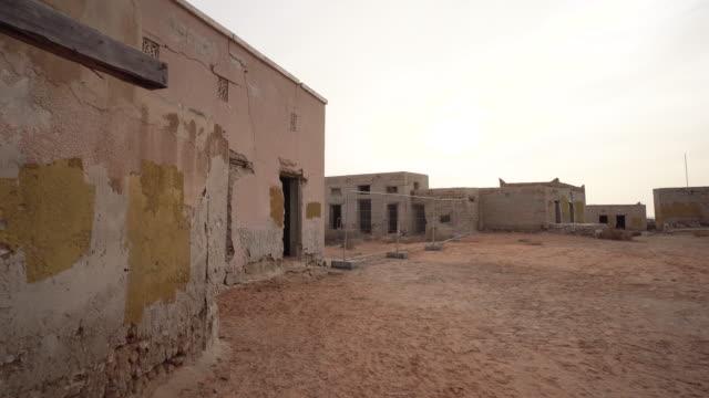 POV, walking through village in Ras al-Khaimah