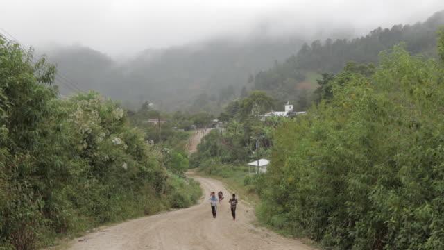 Walking Up Dirt Road