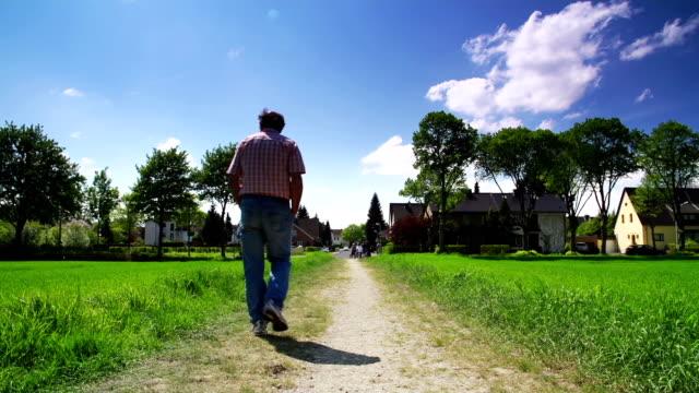 CRANE UP: Walking