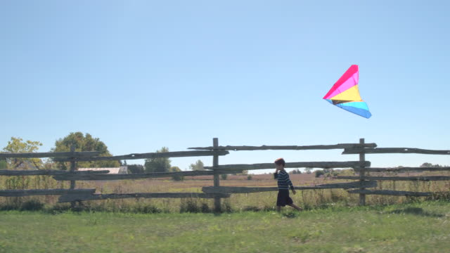 Walking with a Kite