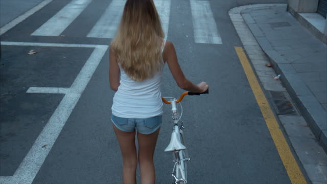 Walking With My Bicycle (slow motion)