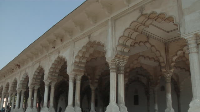 MS, Walkway in Agra Fort, Agra, Uttar Pradesh, India