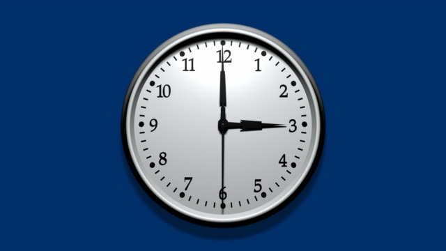 3d wall clock fast - deadline stock videos & royalty-free footage