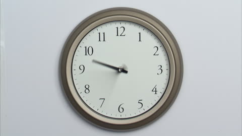t/l, ms, wall clock - clock face stock videos & royalty-free footage