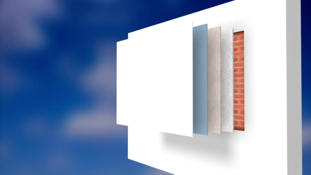 wall insulation - insulator stock videos & royalty-free footage