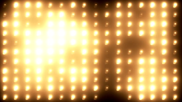 wall of lights background - orange colour bildbanksvideor och videomaterial från bakom kulisserna