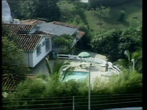 wall round esquebal house know locally as 'the bunker'