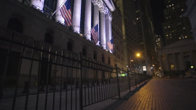 wall street - new york stock exchange stock videos & royalty-free footage