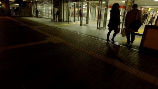 「pov 」、wallk night.tokyo 、日本各地で - 水平アングル点の映像素材/bロール