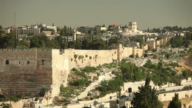 walls of jerusalem - living organism stock videos & royalty-free footage