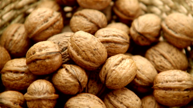 walnuts - footage - nutshell stock videos & royalty-free footage