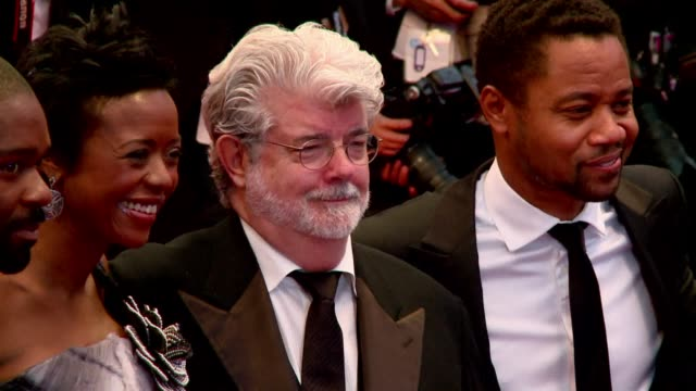 walt disney co has announced it is buying star wars director george lucas's film company for $4 billion and plans to revive the classic sci-fi series... - star wars film series stock videos & royalty-free footage