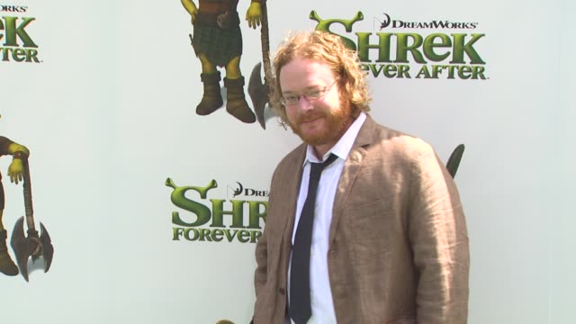 walt dohrn at the 'shrek forever after' premiere at universal city ca - universal city video stock e b–roll