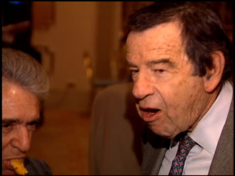 Walter Matthau at the 1995 Producers Guild Golden Laurel Awards at the Regent Beverly Wilshire Hotel in Beverly Hills California on March 8 1995