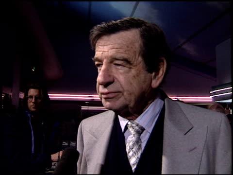 Walter Matthau at the 'Grumpy Old Men' Premiere on October 15 1993