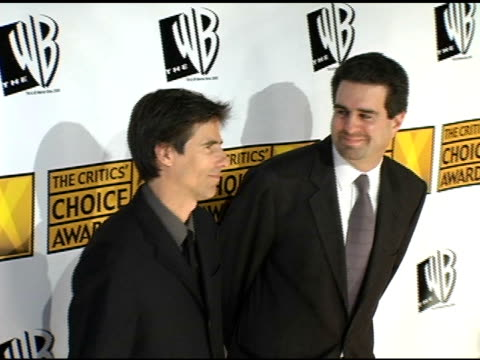 walter salles and michael nozik at the 2005 critics' choice awards at the wiltern theater in los angeles california on january 10 2005 - wiltern theatre stock videos and b-roll footage