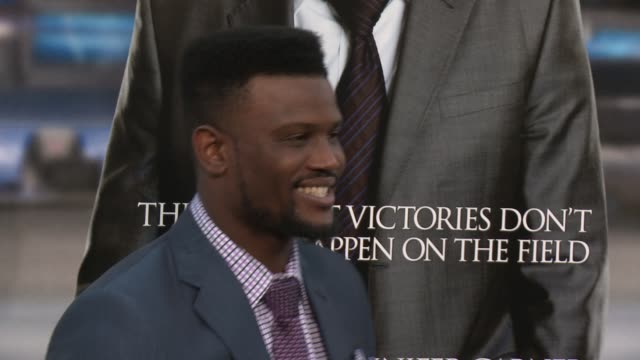 """walter thurmond at """"draft day"""" los angeles premiere at regency village theatre on april 07, 2014 in westwood, california. - regency village theater stock videos & royalty-free footage"""
