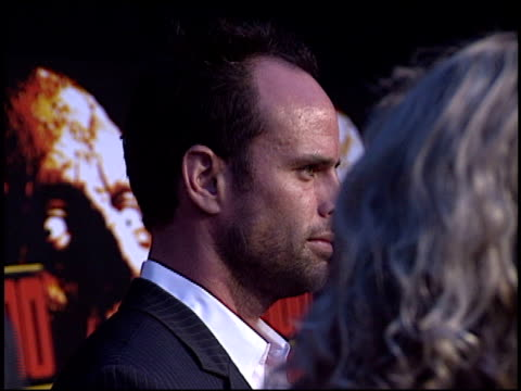 walton goggins at the 'house of 1000 corpses' premiere at arclight cinemas in hollywood california on april 9 2003 - house of 1000 corpses stock videos and b-roll footage