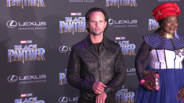 Walton Goggins at the Marvel Studios' 'Black Panther' World Premiere at Dolby Theatre on January 29 2018 in Hollywood California