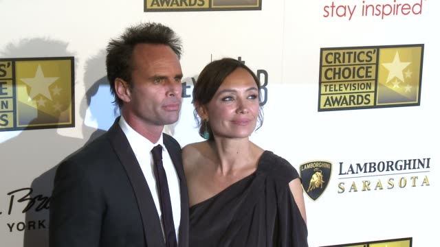 Walton Goggins Nadia Conners at Broadcast Television Journalists Association's 3rd Annual Critics' Choice Television Awards on 6/10/2013 in Beverly...