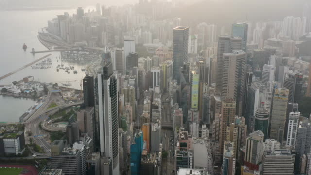 wan chai hong kong - wanchai stock videos and b-roll footage