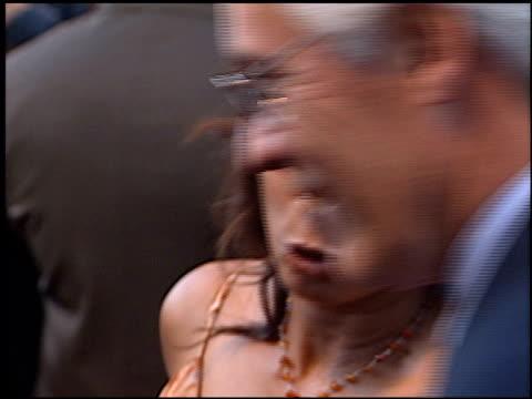 wanda de jesus at the 'blood work' premiere at warner brothers in burbank california on august 6 2002 - wanda de jesus stock videos and b-roll footage