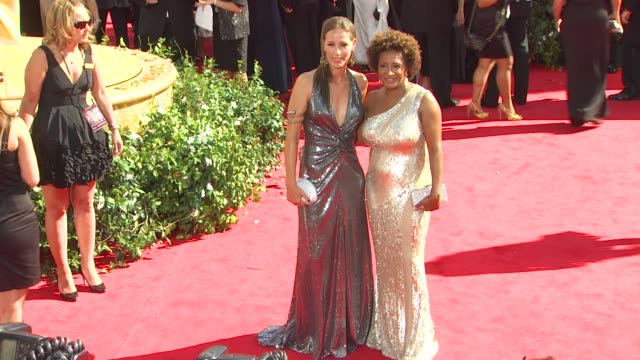 wanda sykes and guest at the 62nd primetime emmy awards arrivals part 2 at los angeles ca - wanda sykes stock videos and b-roll footage
