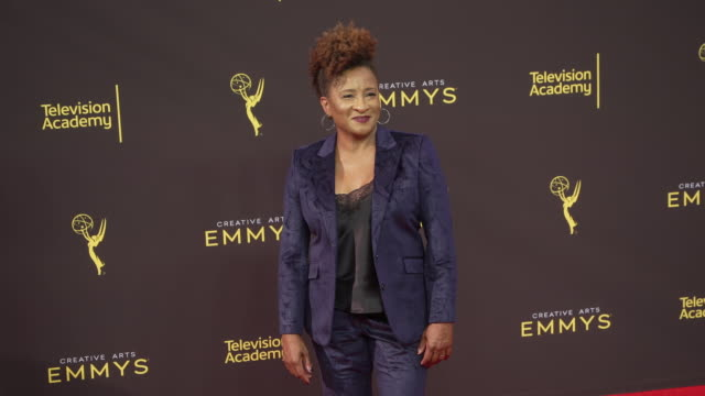 wanda sykes at the 2019 creative arts emmy awards day 1 at microsoft theater on september 14 2019 in los angeles california - wanda sykes stock videos and b-roll footage