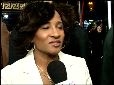 wanda sykes at the 'down to earth' premiere at grauman's chinese theatre in hollywood california on february 12 2001 - wanda sykes stock videos and b-roll footage