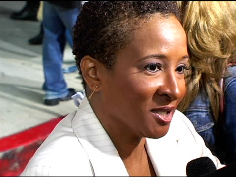 wanda sykes at the 'monsterinlaw' los angeles premiere on april 28 2005 - wanda sykes stock videos and b-roll footage