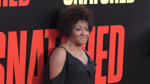 wanda sykes at the premiere of 20th century fox's 'snatched' arrivals on may 10 2017 in westwood california - wanda sykes stock videos and b-roll footage