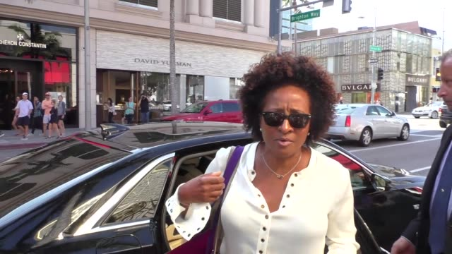 interview wanda sykes on her new television series while shopping in beverly hills at celebrity sightings in los angeles on september 15 2017 in los... - wanda sykes stock videos and b-roll footage