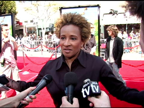 wanda sykes on this voice over project being the most difficult job she's done in the entertainment industry on her thoughts about the outcome on her... - wanda sykes stock videos and b-roll footage