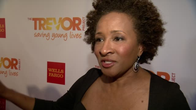 interview wanda sykes thanks god for the trevor project even if we see things are good in the north east there are huge setbacks for example in... - wanda sykes stock videos and b-roll footage