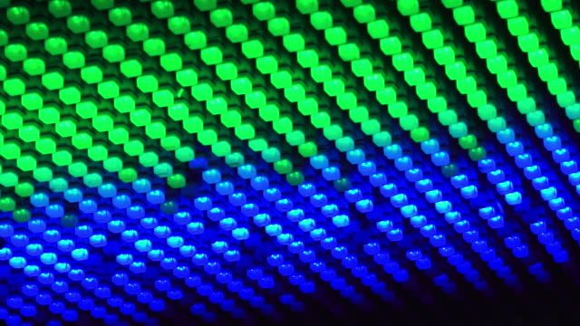 vídeos de stock e filmes b-roll de hd anda tecto luzes de discoteca - movimento perpétuo