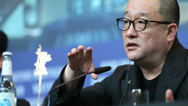 Wang Jingchun attends the 'So Long My Son' Press Conference during the 69th Berlinale International Film Festival Berlin at Grand Hyatt Hotel on...