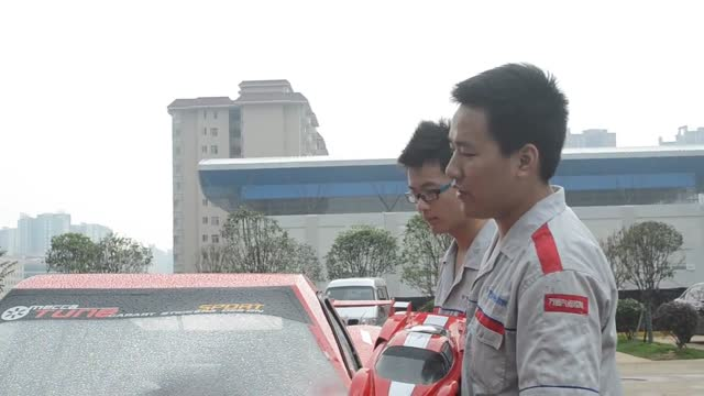 want a ferrari, but don't have the money? no problem! these four talented young men from china's changsha city can help you turn a written off... - only young men stock videos & royalty-free footage