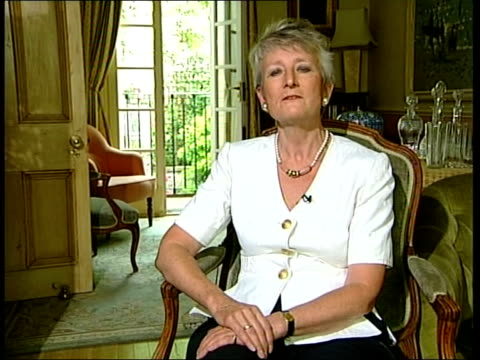 slobodan milosevic lawyer's prepare defence itn dame pauline nevillejones interview sot would be prepared to give evidence in trial of slobodan... - slobodan milosevic stock videos and b-roll footage