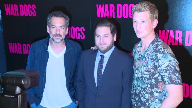 CLEAN 'War Dogs' New York Premiere Arrivalsat Metrograph on August 3 2016 in New York City