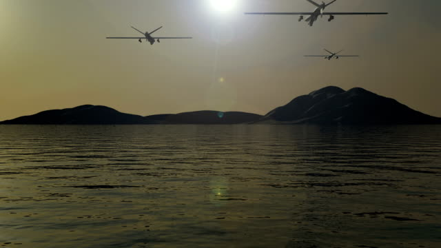 war drones attack - military exercise stock videos & royalty-free footage