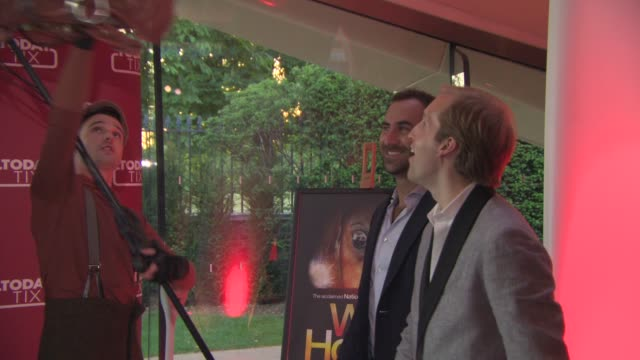 war horse brian fenty merritt baer at todaytix launch party at the serpentine sackler gallery on june 04 2015 in london england - launch event stock videos & royalty-free footage
