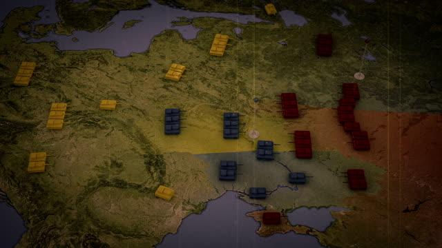Krieg in Europa Russische-Ukrainische Konflikt