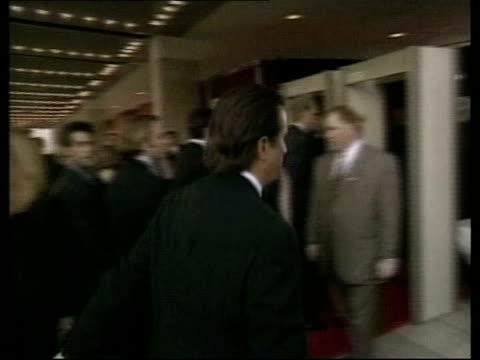 US Send in special forces/Northern Alliance preparations POOL California Los Angeles Andy Garcia arriving at Emmy Awards ceremony Sally Field...