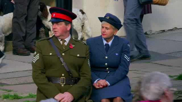 war weekend - sergeant stock videos & royalty-free footage