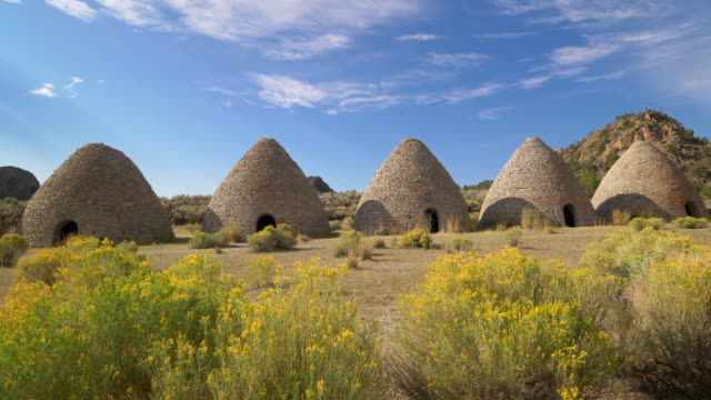 Ward Charcoal Ovens Created Charcoal for Ore Smelting in Nevada